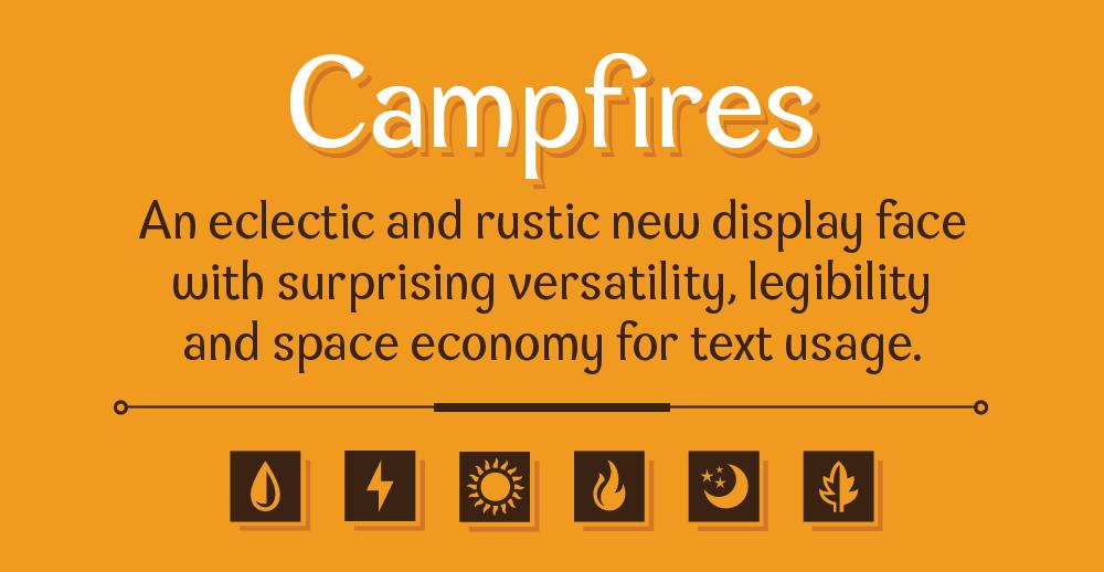 Campfires Type Specimen